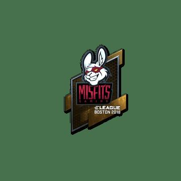 Sticker | Misfits Gaming (Foil) | Boston 2018