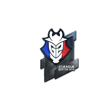 Sticker | G2 Esports (Foil) | Boston 2018