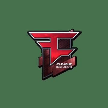 Sticker | FaZe Clan (Foil) | Boston 2018