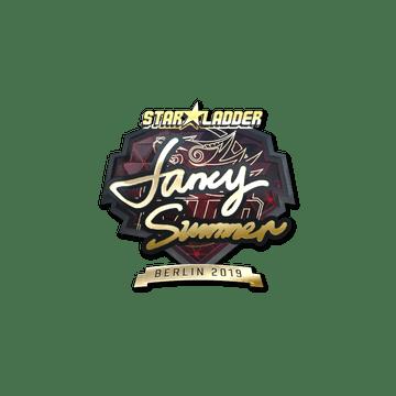 Sticker | Summer (Gold) | Berlin 2019