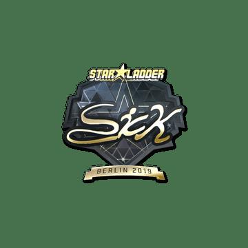 Sticker | SicK (Gold) | Berlin 2019