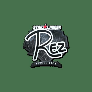 Sticker | REZ (Foil) | Berlin 2019