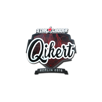 Sticker | qikert (Foil) | Berlin 2019