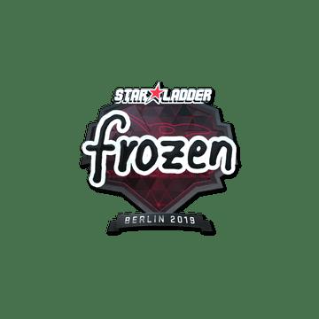 Sticker   frozen (Foil)   Berlin 2019