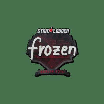 Sticker   frozen   Berlin 2019