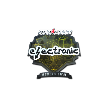 Sticker   electronic (Foil)   Berlin 2019