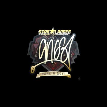 Sticker | ANGE1 (Gold) | Berlin 2019