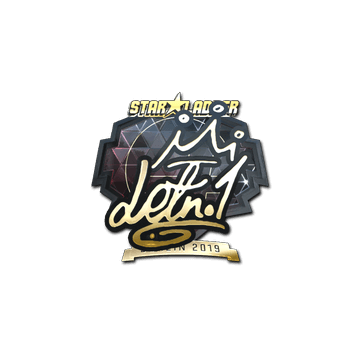 Sticker | LETN1 (Gold) | Berlin 2019