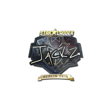 Sticker | JaCkz (Gold) | Berlin 2019