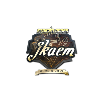 Sticker | jkaem (Gold) | Berlin 2019