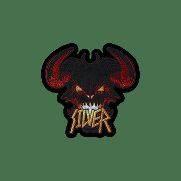 Patch | Metal Silver Demon