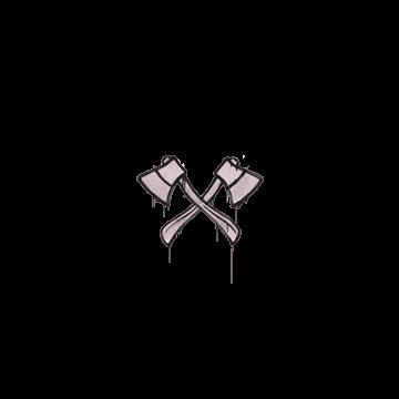 Sealed Graffiti | X-Axes (War Pig Pink)