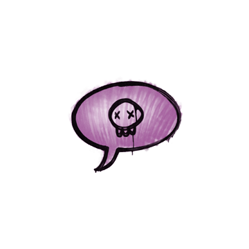 Sealed Graffiti | Death Sentence (Bazooka Pink)