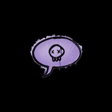 Sealed Graffiti | Death Sentence (Violent Violet)