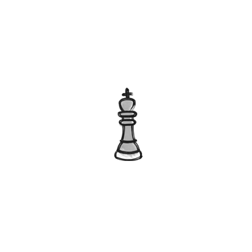 Sealed Graffiti   Chess King (Shark White)