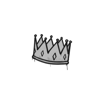 Sealed Graffiti | King Me (Shark White)