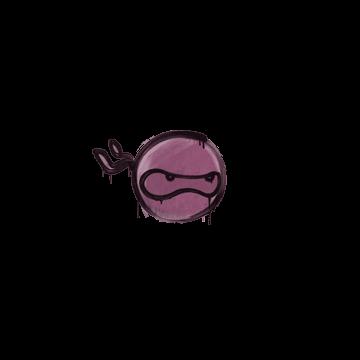 Sealed Graffiti | Ninja (Princess Pink)