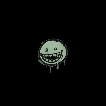 Sealed Graffiti | Mr. Teeth (Cash Green)