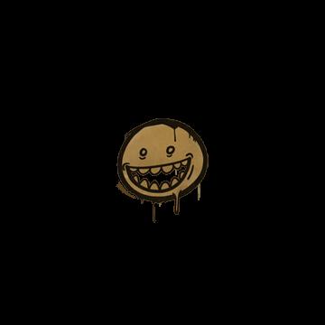 Sealed Graffiti   Mr. Teeth (Desert Amber)