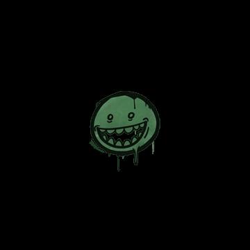 Sealed Graffiti | Mr. Teeth (Jungle Green)
