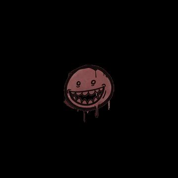 Sealed Graffiti | Mr. Teeth (Brick Red)