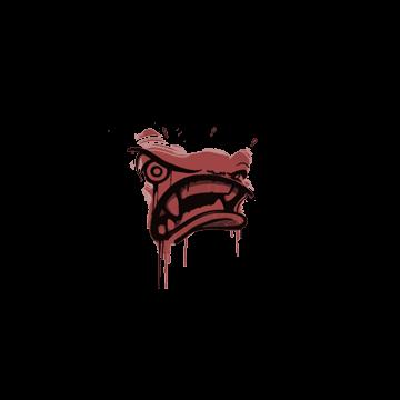 Sealed Graffiti | Rage Mode (Blood Red)