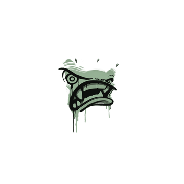 Sealed Graffiti   Rage Mode (Cash Green)