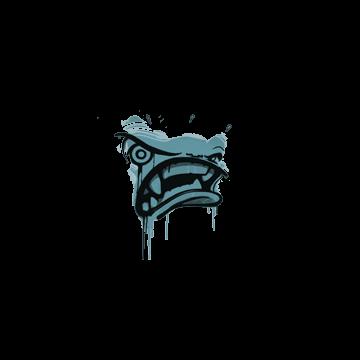 Sealed Graffiti | Rage Mode (Wire Blue)