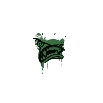 Sealed Graffiti | Rage Mode (Jungle Green)