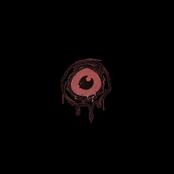 Sealed Graffiti   Eye Spy (Blood Red)