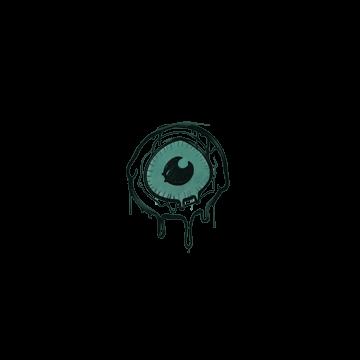 Sealed Graffiti | Eye Spy (Frog Green)