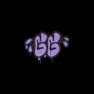 Sealed Graffiti | GGWP (Violent Violet)