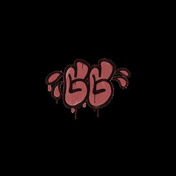 Sealed Graffiti | GGWP (Blood Red)