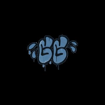 Sealed Graffiti | GGWP (Monarch Blue)