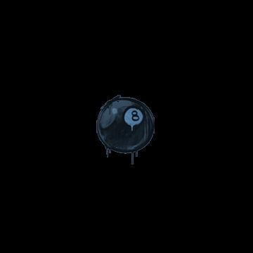 Sealed Graffiti | 8-Ball (Monarch Blue)