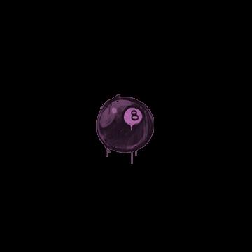Sealed Graffiti | 8-Ball (Bazooka Pink)