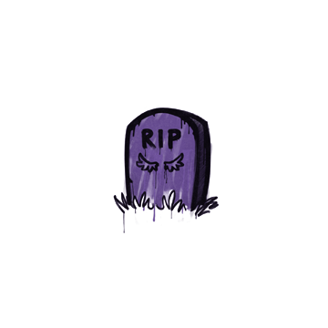 Sealed Graffiti | Tombstone (Monster Purple)