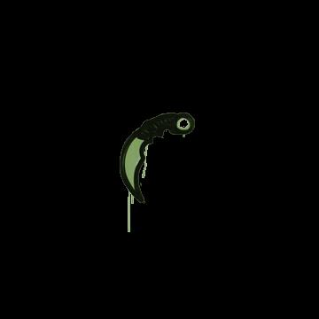Sealed Graffiti | Karambit (Battle Green)