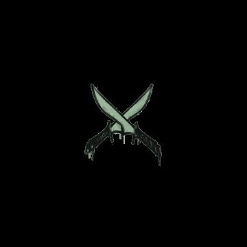 Sealed Graffiti | X-Knives (Cash Green)