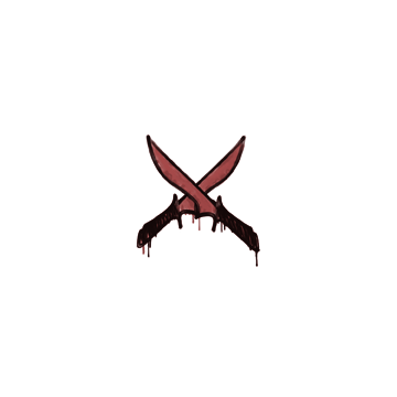 Sealed Graffiti   X-Knives (Blood Red)