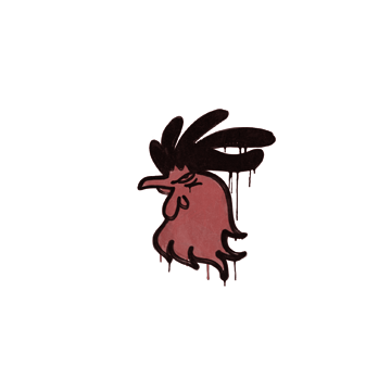 Sealed Graffiti   Cocky (Blood Red)