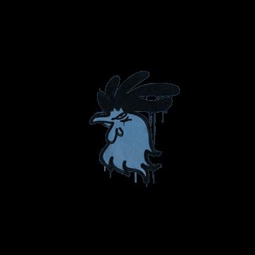 Sealed Graffiti | Cocky (Monarch Blue)
