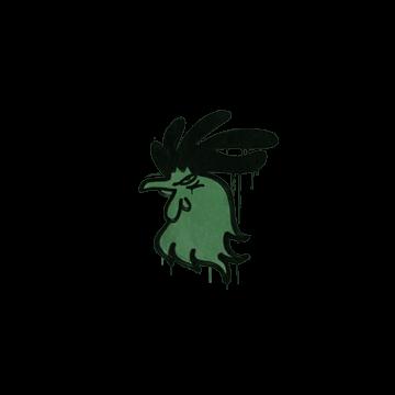 Sealed Graffiti | Cocky (Jungle Green)