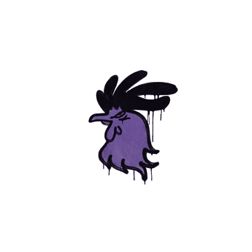 Sealed Graffiti | Cocky (Monster Purple)