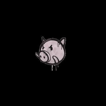 Sealed Graffiti | Piggles (War Pig Pink)