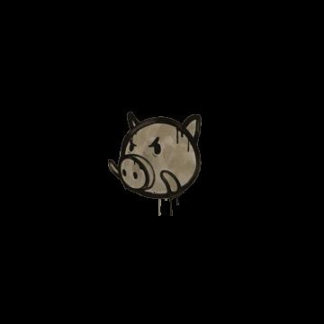 Sealed Graffiti | Piggles (Dust Brown)