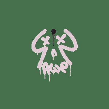 Sealed Graffiti | Recoil AWP (War Pig Pink)