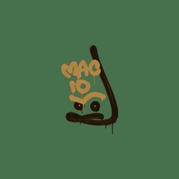 Sealed Graffiti | Recoil MAC-10 (Desert Amber)
