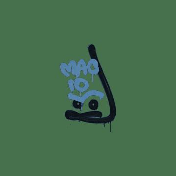 Sealed Graffiti | Recoil MAC-10 (Monarch Blue)