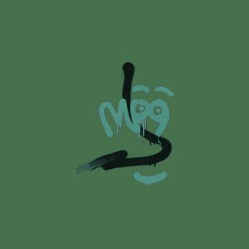 Sealed Graffiti   Recoil MP9 (Frog Green)